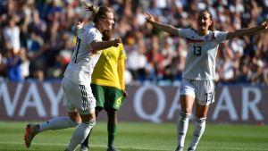 Alemania no tuvo piedad ante Sudáfrica y lo goleó 4-0