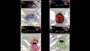 Retiran adornos de Halloween por riesgo de asfixia