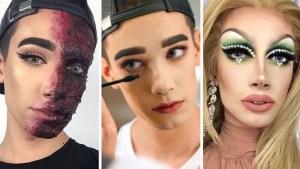 """Joven maquillador sorprende con sus """"looks"""""""