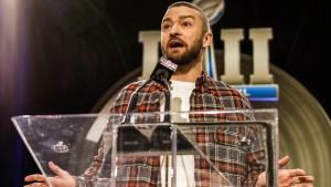 """Timberlake descarta junte con NSYNC en el """"Super Bowl"""""""