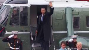 Obama se despide de la presidencia desde el Capitolio
