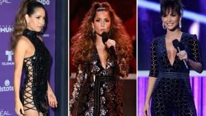Carmen Villalobos, sexy y camaleónica en Premios Tu Mundo