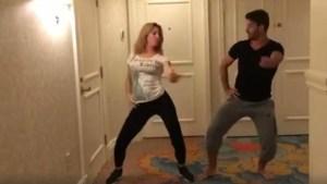 David Chocarro roba suspiros en sensual baile viral
