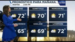 Temperaturas para el 25 de octubre