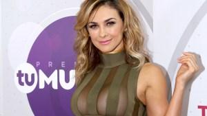 Aracely Arámbula, súper sexy en ensayos de Premios Tu Mundo