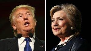 Clinton aventaja a Trump en encuestas
