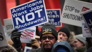 A días de otro cierre, congresistas aún no tienen acuerdo