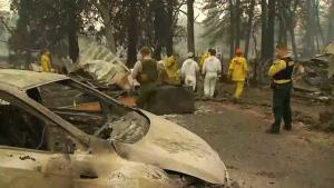 Continúa búsqueda de desaparecidos en incendio Camp