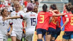 EEUU vence a España y gana el pase a cuartos de final