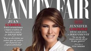 Indignación por portada con Melania Trump