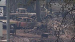 Mapas interactivos del incendio Camp al norte de California