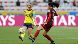 Resumen del partido Suecia vs Tailandia
