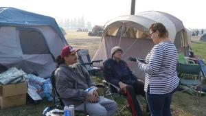 Desmienten rumores de desalojos de afectados en Chico