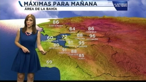 Temperaturas para el 1 de julio