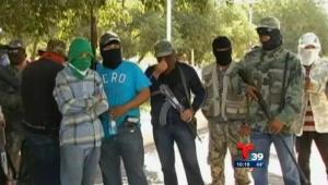 México: Banda criminal notifica su existencia