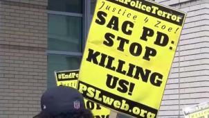 Protestan por presuntos abusos de la policía
