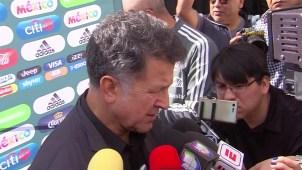 Osorio llega a la primera sede del choque amistoso del Tricolor