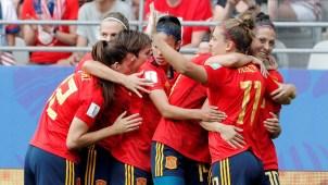 Golazo de Hermoso da el empate a España