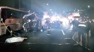 México: accidente fatal deja 11 muertos y 30 heridos