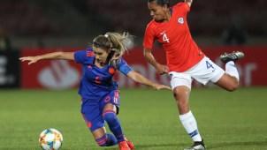 Chile y Colombia empatan a uno en la previa del Mundial