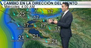 <p>David Gonzalez nos tiene el pronóstico del tiempo.</p>