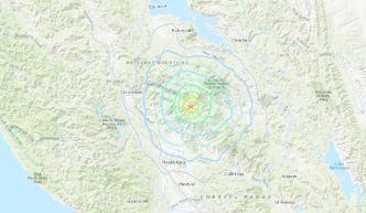 Registran sismo de 4.2 en área de Geysers