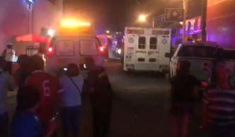 Incendio en bar de México deja 23 muertos y 13 heridos graves