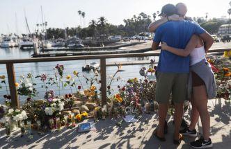 Familias y amantes del mar: víctimas de barco incendiado