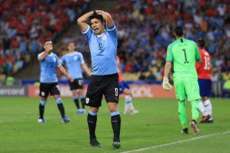 El lamento de Luis Suárez tras recibir pase de gol