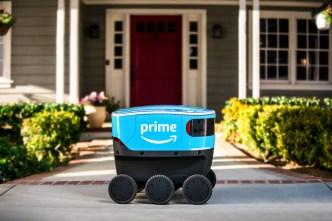 Amazon suelta adorables robots de entrega en California