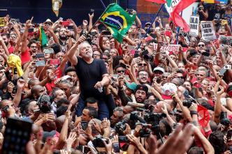 """Lula da Silva desafía a Bolsonaro: """"Estoy de regreso"""""""