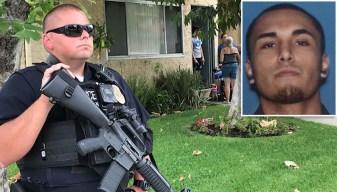 Policía: mata a su padre, hermano y mujer en gasolinera