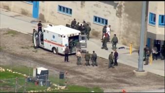 Varios heridos tras motín en prisión estatal