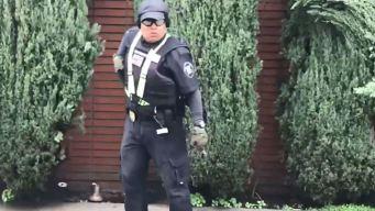 Guardia hiere a YouTuber frente a sinagoga de California
