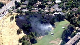 Registran incendio de vegetación en Walnut Creek