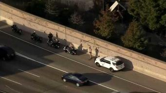 Richmond: oficial herido en accidente en autopista 80