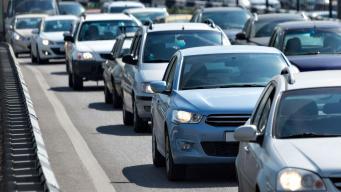 Congestionamiento en San Francisco por cierre de calles