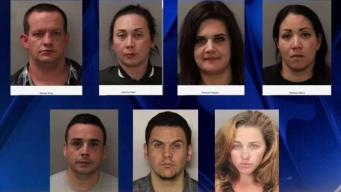 7 arrestados por robar correo postal