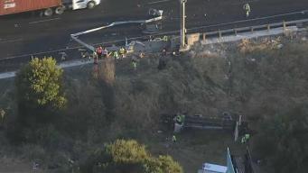 Accidente mortal provoca cierre de autopista 80