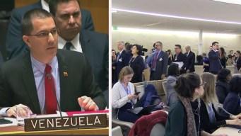Así ignoraron al canciller de Maduro en la ONU