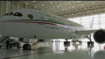 Aterriza avión presidencial de México en California