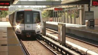 Inicia funcionamiento de nuevos trenes del BART