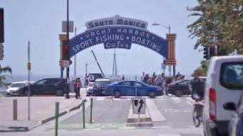 Intento de robo crea pánico en área de Santa Mónica