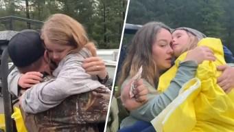 """""""Milagro"""": hermanitas sobreviven 2 días solas en bosque"""