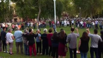 Comunidad de Concord unida contra violencia con armas