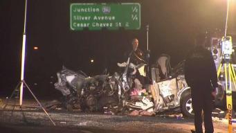 Conductor en sentido contrario provoca accidente mortal