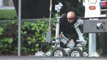 Detectan artefacto sospechoso en un parque