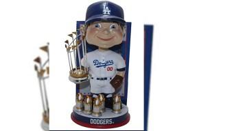 Salen a la venta 'cabezones' de los Dodgers de Los Ángeles