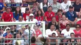 EEUU sufre contra España, pero alcanza los cuartos del Mundial
