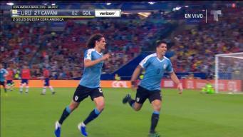 Increíble: Golazo de Cavani frente a Chile